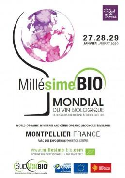 Millésime Bio, le plus grand salon du vin Bio ouvre ses portes le 27/01 prochain ! 1
