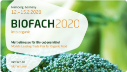 J-5 avant l'ouverture du salon international Biofach ! 2