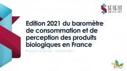 L'Agence Bio publie son baromètre annuel de la consommation de bio 2